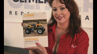 4. Clymer Manuals Yamaha Blaster Manual YFS200 Manual YFS 200 ATV Four Wheeler Service Manual