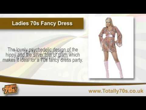 Ladies 70s Fancy Dress