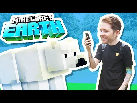 I Got Minecraft Earth EARLY! world39s first