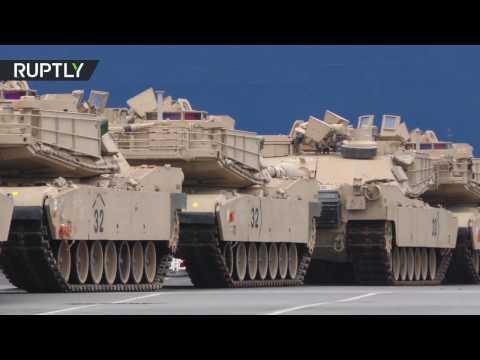 Военная техника из США прибыла в Германию