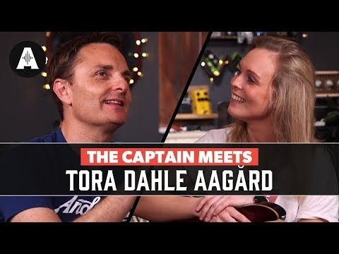 The Captain meets Tora Dahle Aagård