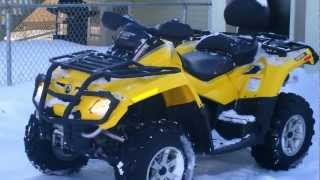 7. 2008 can am outlander 650 max xt