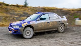 Colin McRae Tribute Subarus at Wales Rally GB - /MY LIFE AS A RALLYIST by DRIVE