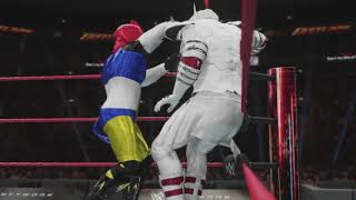 WWE 2K18 - Swoop vs. Jetfire
