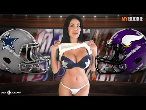 TNF Cowboys vs Vikings Odds & Sexy Game Preview Presented by Ava Fiore
