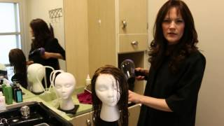 How To Blow Dry Human Hair Wig