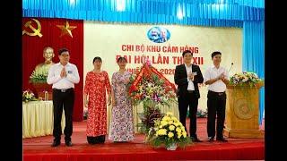 Đại hội Chi bộ khu Cẩm Hồng, phường Phương Nam lần thứ XII