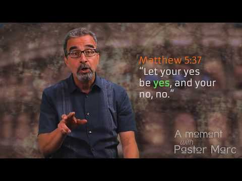 "A Moment with Pastor Marc #60<br /><strong>""Commit""</strong>"