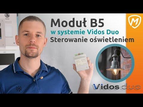 Sterowanie oświetleniem z domofonu Vidos Duo - MODUŁ B5
