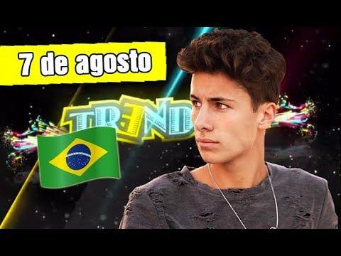 TRENDING 7 AGOSTO - REUNIÓN DE YOUTUBERS EN BRASIL, DESPACITO ES EL VIDEO MÁS VISTO DE YOUTUBE Y +