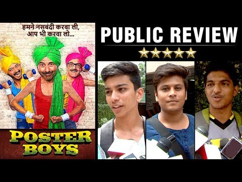 Poster Boys Public Review | Bobby Deol, Sunny Deol