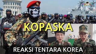 Video Tentara Korea Kaget Menonton KOPASKA(TNI Pasukan Khusus dari Indonesia ) MP3, 3GP, MP4, WEBM, AVI, FLV November 2017