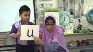 e-GURU: BAHASA MELAYU Prasekolah - Menyebut Huruf Vokal A, E, I, O, U