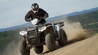 7. 2014 Polaris Sportsman 570 First Ride - MotoUSA