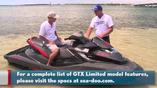 3. Sea-Doo GTX Limited 215: Luxury Defined