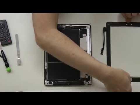 Apple IPad 3 öffnen – Lautsprecher wechseln, reparieren in Deutsch