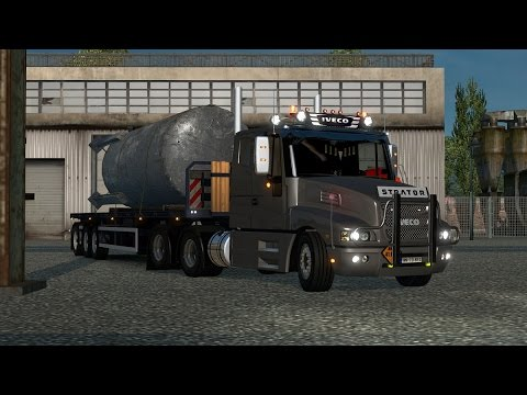 Iveco Strator and Volvo FH 2013 Tuning