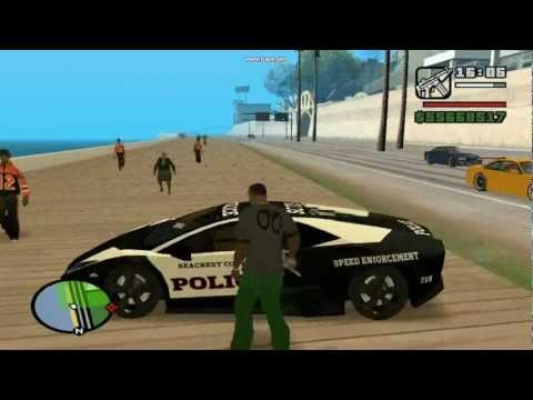Grand Theft Auto: San Andreas Real Car Mods (Realmode Gameplay)
