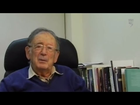 Professor Yehuda Bauer: Why Did World War II Break Out? (part 1)