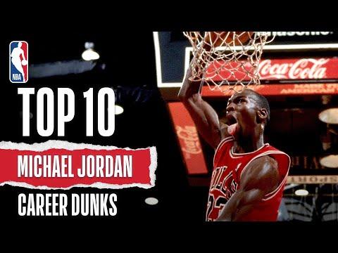 Michael Jordan's Top Career Dunks