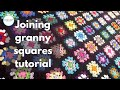 Crochet Joining Granny Squares Tutorial