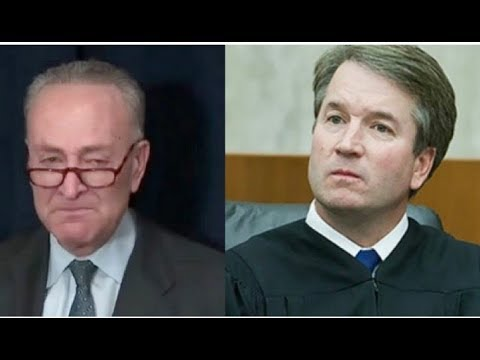 SCHUMER IS FALLING APART! MAKES HIS MOST DESPERATE MOVE YET TO STOP KAVANAUGH!