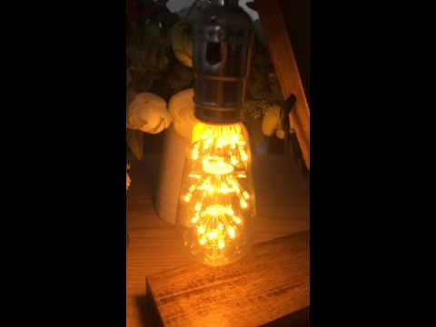 Kiven Vintage Warm White Romantic LED Decorative Light Bulbs for Holiday Christmas Indoor Party