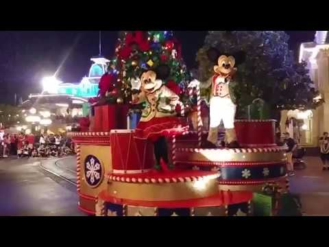 Mickey's Once Upon A Christmastime Parade 2017 - Magic Kingdom (Mickeys' Very Merry Christmas Party)