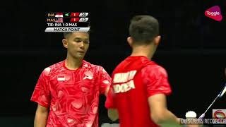 Video Badminton Ganda putra INDONESIA VS MALAYSIA MP3, 3GP, MP4, WEBM, AVI, FLV Februari 2018