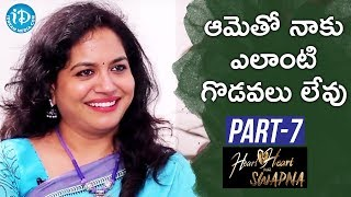 Video Singer Sunitha Exclusive Interview Part #7 || Heart To Heart With Swapna MP3, 3GP, MP4, WEBM, AVI, FLV April 2018