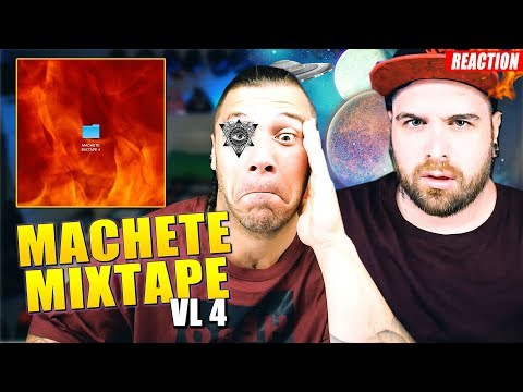 Machete Mixtape Vol 4 * REACTION * by Arcade Boyz 2019