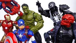 Video Avengers Fights Against Hydra~! Hulk, Iron Man, Spider Man, Captain America MP3, 3GP, MP4, WEBM, AVI, FLV Juli 2018