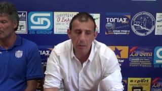 Τριγλία Ραφήνας - Εθνικός: Οι δηλώσεις των προπονητών