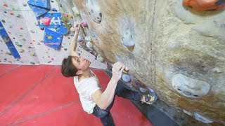 Climbing On Legendary Problems - Jerry Moffat Shows Us The Way by Eric Karlsson Bouldering