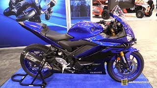 4. 2019 Yamaha R3 - Walkaround - Debut at 2018 AIMExpo Las Vegas