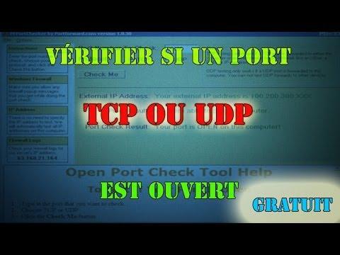 comment trouver port tcp