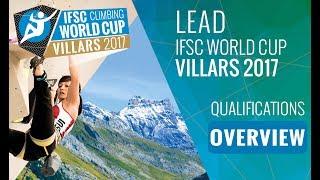 IFSC Climbing World Cup Villars 2017 - Qualifications Overview by International Federation of Sport Climbing