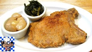 Southern Fried Pork Chops, such a classic Southern and Soul Food delicacy! Crispy on the outside, moist and tender on the...
