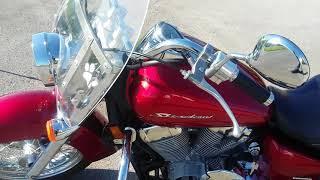 9. 2012 Honda Shadow Aero 750