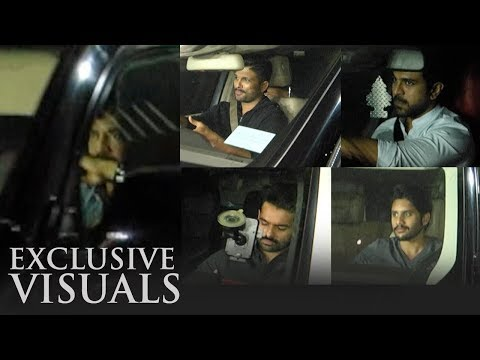 TFI Top Celebrities Meeting @ Annapurna Studios | Exclusive | Chiranjeevi | NTR | Ram Charan