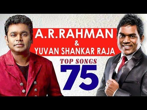 Video TOP 75 Songs - A.R. Rahman & Yuvan Shankar raja | One Stop Jukebox | Shankar Mahadevan | Hariharan download in MP3, 3GP, MP4, WEBM, AVI, FLV January 2017