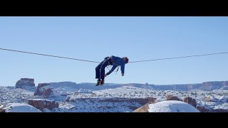 Andy Lewis is one of the world's best slackliners, known for incredible feats of balance high up in the air. Watch as the DJI ...