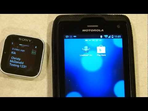 Video of SmartWatch Universal IM