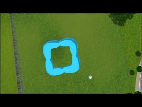 comment construire une piscine dans les sims sur ipad