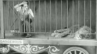 Charlie Chaplin - de leeuwenkooi