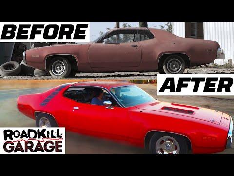 "Rebuilding a ""Dream Car"" Road Runner! | Roadkill Garage | MotorTrend"
