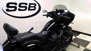 9. 2015 Victory Cross Country 8-Ball - used motorcycle for sale - Eden Prairie, MN