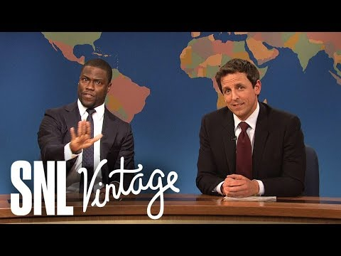 Weekend Update: Really!?! Justice Scalia's Views on the Voting Rights Act (ft. Kevin Hart) - SNL