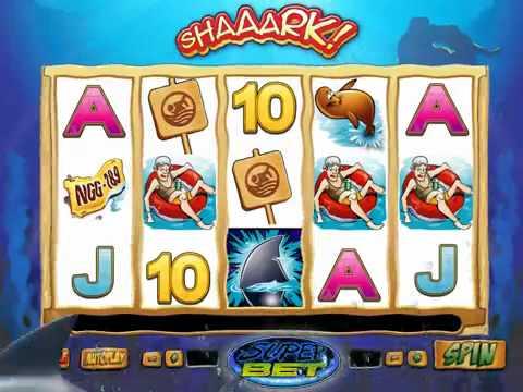 SHAAARK SuperBet online slot game