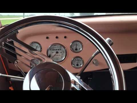 1934 Ford Vicky Interior Video